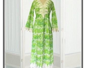 Lilly Pulitzer Maxi Dress Rare Vintage