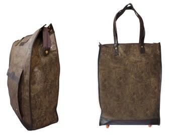 shopping trolley bag etsy. Black Bedroom Furniture Sets. Home Design Ideas