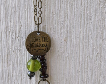 Love the Journey Charm Necklace