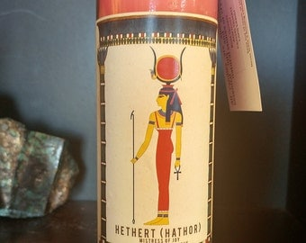 Goddess Hethert (Hathor) Candle