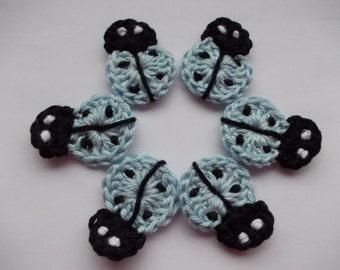 6 sweet Ladybug - crochet