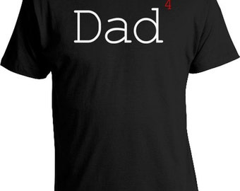 Funny Dad Shirt Gifts For Dad T Shirt Dad Gift Ideas Father Clothing Gifts For Him Daddy T Shirt Dad Clothes Dad 4 Kids Mens Tee FAT-45