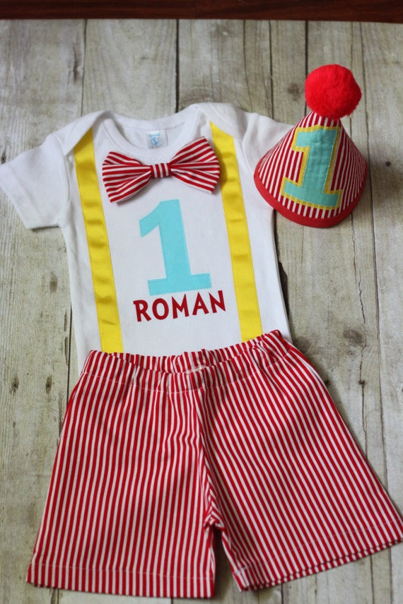 Carnival Circus 1st Birthday Outfit Carnival Firsts Birthday