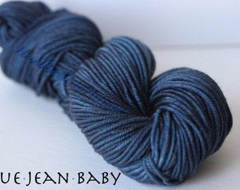 Elevenses DK Yarn Mini Skein, Blue Jean Baby