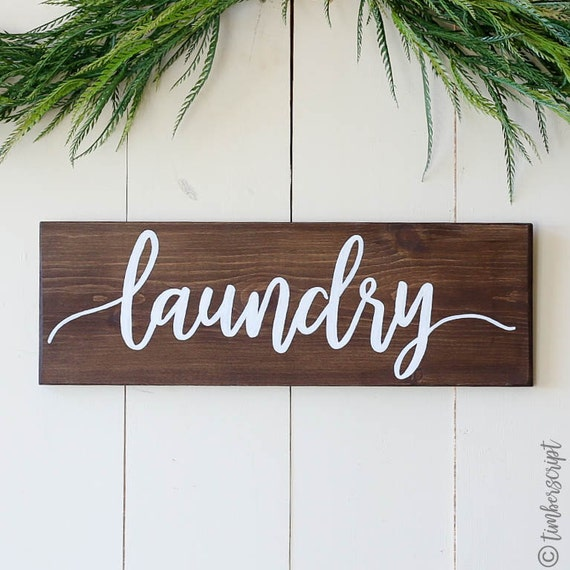 laundry room sign laundry wall decor rustic home decor