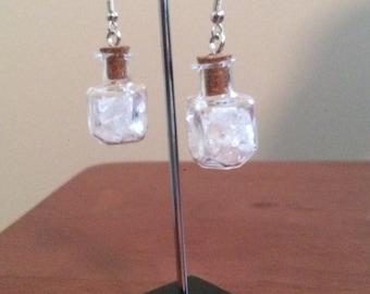Crystal Quartz chips Earrings
