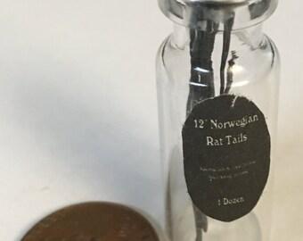 Dollhouse Miniature Norwegian Rat tails Potion bottle