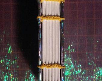 holographic handbound journal
