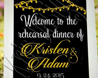 Welcome to the Rehearsal Dinner.... Groom Cake... editable. SVG PNG JPG