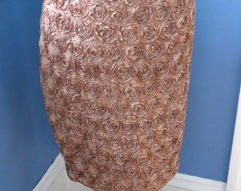 60s Vintage Rosebud Skirt