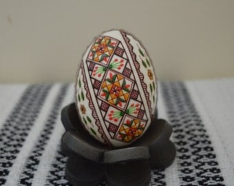 Unique Easter Decorated Egg (Real Duck Egg) for Decoration/Collectible/Gift
