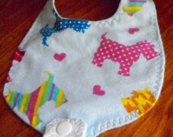 Bib with Pacifier holder *Free shipping*