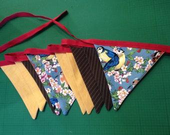 Birdy Fabric Bunting