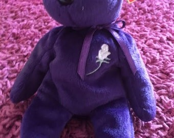 Princess Diana Memorial Beanie Baby Limited Edition