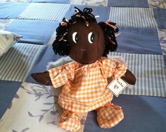 Peaches Handmade Cloth Doll