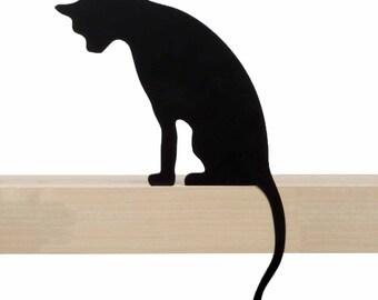 Cat's Meow - Princess - decorative cat silhouette by Artori Design