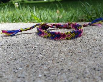 Aztec Friendship Macrame Bracelet -Made to Order-