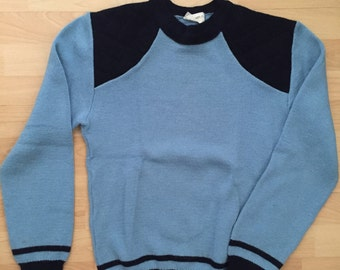 Ski Sweater in Blue