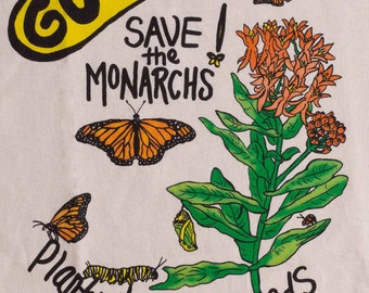 Got Weed? - Save the Monarch's T-Shirt package