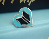Book Lover enamel pin - Gift for Book Lover - Book Jewelry - Lapel pin - Literature - Book Jewelry - literary gift - reading pin - kawaii