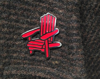 Adirondack Chair enamel pin