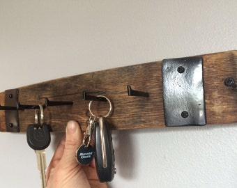 Whiskey Barrel Key Holder