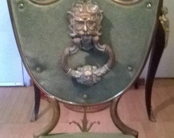 Bronze knocker door medieval castle theme fauna - PROMO 500 EURO free shipping worldwide