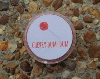 Cherry Dum-Dum Lipscrub!