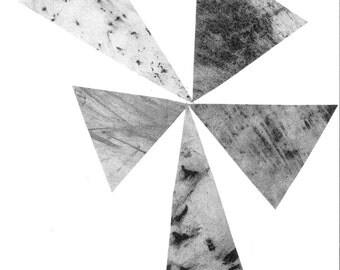 Triangle Pattern Postcard
