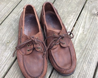 Vinatge Men's Rockports Size 10.5, Brown Leather