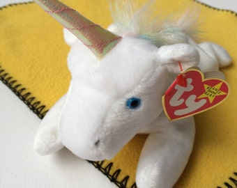 Mystic the Unicorn  Ty Beanie Baby Collection