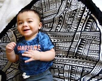 Alofa Tribal Baby Blanket