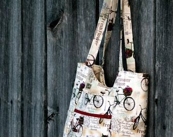 The Parisian Street Purse Tote PDF Sewing Bag Pattern RLR Creations