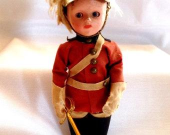 English Palace Guard-Doll