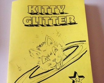 Kitty Glitter Coloring Book  NOT FOR KIDS