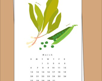 2016 Calendar Farmers Market Produce