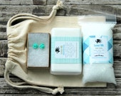 Mint Bridesmaid Gift . Bridesmaid Spa Gift Set . Coconut Milk Spa Gift . Maid of Honor Gift . Mother of the Bride . Mint Bridesmaid Gifts