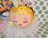 Alice in Wonderland Inspired Betsy Ornament