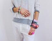 asphalt series // bracelet, resin bracelet, resin jewelry, resin bangle