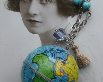 all around the world . necklace