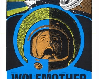 Wolfmother Nashville Screen Print Concert Poster by Print Mafia