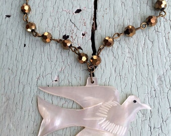 Dove of Peace Necklace - Bethlehem