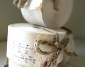 Receipt Tape Rolls - Vintage - ephemera - tree garland - collage