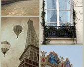 Paris print set, Paris decor, Paris photos, Eiffel Tower prints, Eiffel tower photo, French photos, Paris art, Paris decoration, photo sale