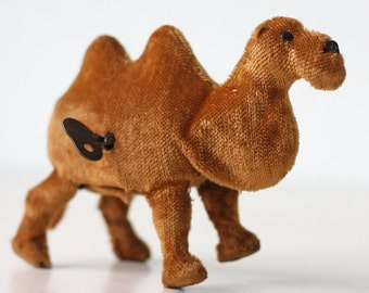 Vintage Camel Wind Up Toy, Traveling Camel