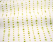 Dotty Stripe in Green from the Hello World Collection by Cori Dantini for Blend Fabrics - fabric by the quarter yard