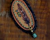 Pluma No. 4 - Mini Feather Pin