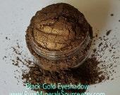 Black Gold Eye Shadow Eyeliner, Vegan, Chemical Free, Gluten Free