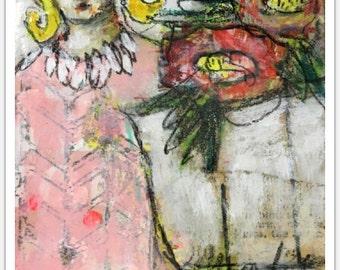 flora art print no. 1 of 20 by mystele