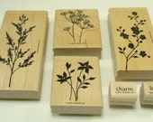 Garden Silhouettes  Stamp Set From Stampin Up 109349  Hostess Set